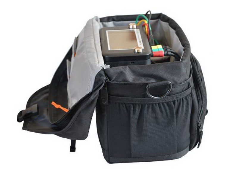 Bag for carrying the device and accessories